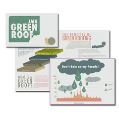 Green Roof brochure with infographic from my college days (http://www.samanthajoydesign.com)