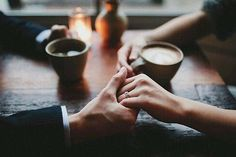 Coffee Hand Snuggle