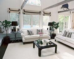 White & black Livingroom