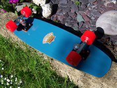 After restoration. Set up with NOS ACS and generation Kryptonics. Vintage Skateboards, Restoration, Skating