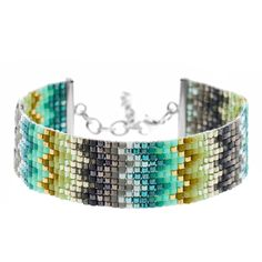 Missoni Inspired Loom Bracelet | Fusion Beads | I'm so excited that my bracelet was published in Beadwork magazine! If you haven't tried beading on a loom, you have to give it a try! If I can do it, so can you!