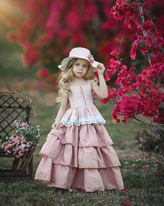 Suzy Dress by Irina Chernousova on Little Girl Dresses, Girls Dresses, Flower Girl Dresses, Toddler Fashion, Fashion Kids, Dollcake Dresses, Classic Photography, Little Princess, Dress Patterns