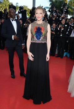 Cate Blanchett in Giorgio Armani - Cannes Film Festival 2014 red carpet - Image 43
