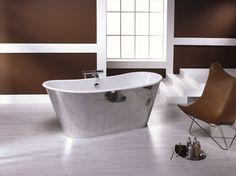 Badewanne aus Gusseisen IRIS Serie Badewannen by BLEU PROVENCE