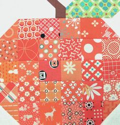 Bee In My Bonnet: The Quilty Barn Along - Silo Barn 7 and the Patchwork Pumpkin Tutorial!!!...