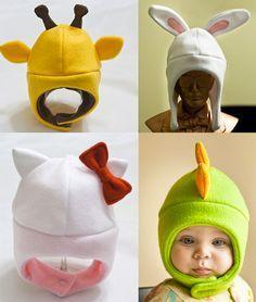 Fleece hats . Toddlers