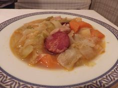 Sopa à lavrador - Sabores da minha cozinha