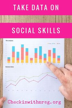 Measure progress on social emotional and behavioral IEP goals by taking data. Three strategies for colleting social skills data and links to tools! #socialskills #specialeducation #socialemotionallearning