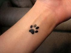 Little Paw Print Tattoo