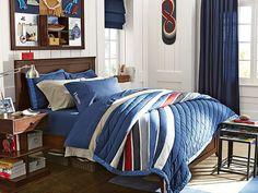 I love the PBteen Hampton Harbor Bedroom on pbteen.com