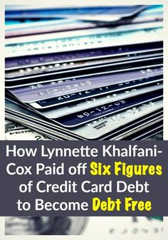 "Lynnette Khalfani-Cox is known all over the world as ""The Money Coach"", for the massive amount of personal finance wisdom that she has doled out over the years. What you may not have known however, is that she was once buried in over $100,000 worth of credit card debt. She had to fight hard in order to turn her situation around, and become debt free. Find out the details to her amazing story and just how she did it."