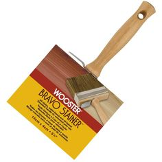 Wooster 5-1/2 in. Bristle/Polyester Bravo Stainer Brush