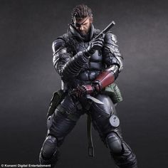 ASquare Enix vai lançar esta figura de Metal Gear Solid V: The Phantom Pain: Venom Snake Sneaking Suit ver. [Metal Gear Solid 5: The Phantom Pain].Com 27 cm esta figura está já disponível para pré…