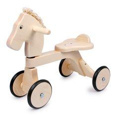 Caballito de #madera walker para #niños sin pedales para entrenar la #motricidad…