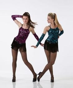 STATIC CHARGE w/Mitts Ice Skating Swing Tap Baton Dance Costume  #Cicci