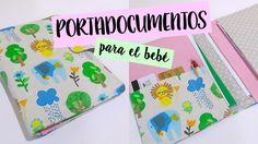En el vídeo de esta semana vamos a hacer una cartera para guardar los documentos de un bebe. Os enseño a sacar el patrón ajustado a la cartilla personal de n...