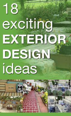 18 exciting exterior design ideas