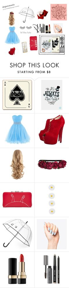 """Alice in Wonderland"" by shreyamshah24 ❤ liked on Polyvore featuring beauté, Avenida Home, Christian Louboutin, H&M, Disney, Accessorize, Kate Spade, Dolce&Gabbana, Bobbi Brown Cosmetics et aliceinwonderland"
