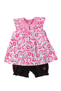 Sucre d'Orge | Fruity Tunic & Short Set (Baby & Toddler Girls) | Nordstrom Rack