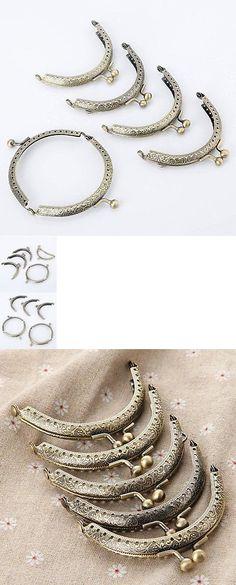 Purse Handles Frames and Feet 146289: Mtsooning 20 Pcs Retro Metal Flower Purse Bag Diy Craft Frame Kiss Clasp Lock -> BUY IT NOW ONLY: $41.85 on eBay!