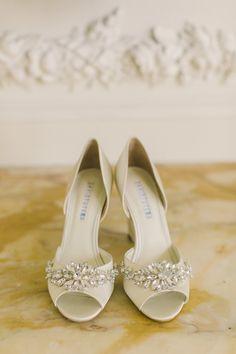Photography: Carlie Statsky Photography   carliestatsky.com Bride's Shoes: David Tutera   davidtutera.com   View more: http://stylemepretty.com/vault/gallery/20243