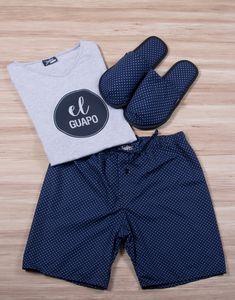 Modelo JHB0064 Pijama Hombre Men Sleepwear