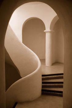 Sepia Arches (by juliaclairejackson) by beyhan.ertemyesilova Sepia Arches (by juliaclairejackson) by beyhan. Architecture Design, Minimalist Architecture, Organic Architecture, Beautiful Architecture, Dubai Architecture, Interiores Design, Interior And Exterior, Design Inspiration, Interior Inspiration