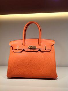 3e3d133e8865 So pretty! HERMES Birkin 35 Rouge + Toile Jean via Rinkya   Luxury ...