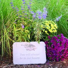 Memorial Garden Personalized Garden Stone Gardens Loss of
