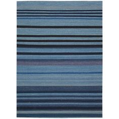 kathy ireland by Nourison Griot Indigo Rug (8' x 10'6) - 16145929 - Overstock Shopping - Great Deals on Kathy Ireland 7x9 - 10x14 Rugs