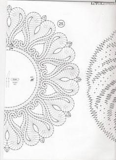 Photo Bobbin Lace Patterns, Embroidery Patterns, Machine Embroidery, Lace Jewelry, Beaded Jewelry Patterns, Bobbin Lacemaking, Lace Heart, Victorian Lace, Lace Making