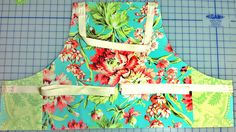Garden Party Apron: Make it from Fat Quarters | Sew4Home