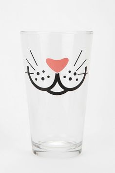 Whiskers Pint Glass