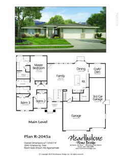 Slight changes to make pantry/mud room more efficient and cost to build less. Sims House Plans, House Layout Plans, Ranch House Plans, House Layouts, House Floor Plans, Br House, Cozy House, Ranch House Remodel, Architectural Floor Plans