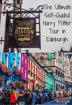 The Ultimate Self-Guided Harry Potter Tour in Edinburgh locations) - PintoPin Scotland Vacation, Scotland Road Trip, Scotland Tours, Ireland Vacation, Scotland Travel, Ireland Travel, Edinburgh Scotland, Galway Ireland, Cork Ireland