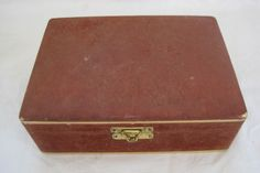 Vintage jewellery box by Time, and a few moths