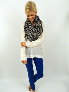 www.shoptcellis.com Royal Blue Jeans