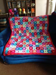 Blanket, pattern from Stylecraft