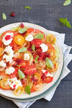 Carpaccio of Tomatoes by lacasasintiempo #Tomatoes #Carpaccio #lacasasintimepo