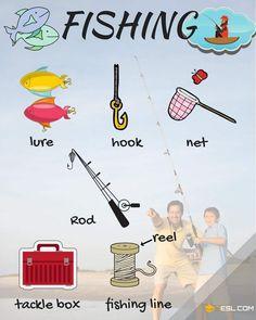 Fishing Vocabulary in English   Talking about Fishing