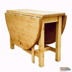 Table Ovale Pliante en Pin Massif Ciré: CHAMONIX | meublespin.fr Chamonix, Oval Table, Solid Pine, Surfboard Wax, Woodwind Instrument