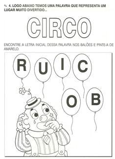 .: Atividades dia do circo