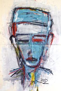 Art by AnnCT Braunsteiner Abstract Portrait, Portrait Art, Cubist Artists, 8th Grade Art, Oil Pastel Art, Virtual Art, Shadow Art, Soft Pastels, Contemporary Abstract Art