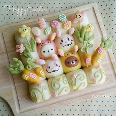 CUTE!!! Pretty Cakes, Cute Cakes, Japanese Sweets, Japanese Bread, Dessert Kawaii, Cute Bento Boxes, Cute Baking, Food Art For Kids, Bread Shaping
