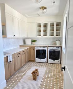 We wouldn't mind doing laundry so much if our laundry room looked like this 🤩🤩🤩 (via @beckiowens). Click the image to try our free home design app. (Keywords: laundry room ideas, laundry room decor, small room decor, laundry room organization, laundry room colors, laundry room shelf, small laundry room ideas dream home, home decor ideas, diy home decor, laundry room makeover) Laundry Room Inspiration, Interior Inspiration, Interior Ideas, Coastal Interior, Design Inspiration, Interior Livingroom, Interior Plants, Interior Styling, Hudson Valley