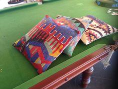 We got cushions! Need more ay.