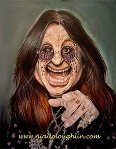 Ozzy Osbourne by Niall O'Loughlin
