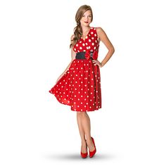 Minnie Mouse Sleeveless Dress for Women