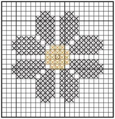 Resultado de imagen para easy flower cross stitch patterns