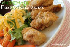 Easy Fried Chicken Recipe #easyrecipes